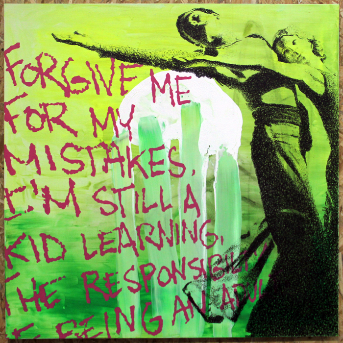 Forgive me for my mistakes../Painting