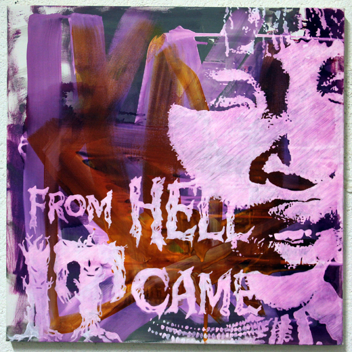 From hell it came / Painting
